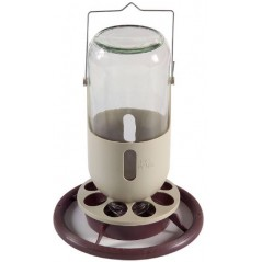 Trough, miner lamp in glass with metal hook 1L - Duvo 820 Duvo 7,21 € Ornibird