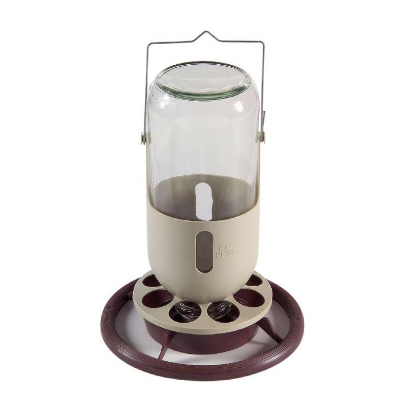 Trough, miner lamp in glass with metal hook 1L - Duvo 820 Duvo 8,47 € Ornibird