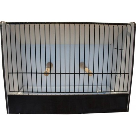 Cage exposure of quail black PVC