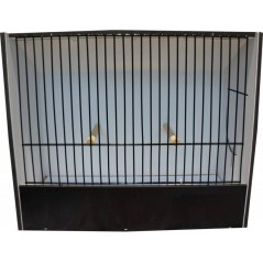 Cage exposure of indigenous black PVC 87212411 Ost-Belgium 26,67 € Ornibird