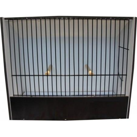 Cage exposition indigène noir en PVC