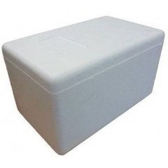 Box in Polystyrene for transport of insects frozen - Ornibird BOX-48B Private Label - Ornibird 13,46 € Ornibird