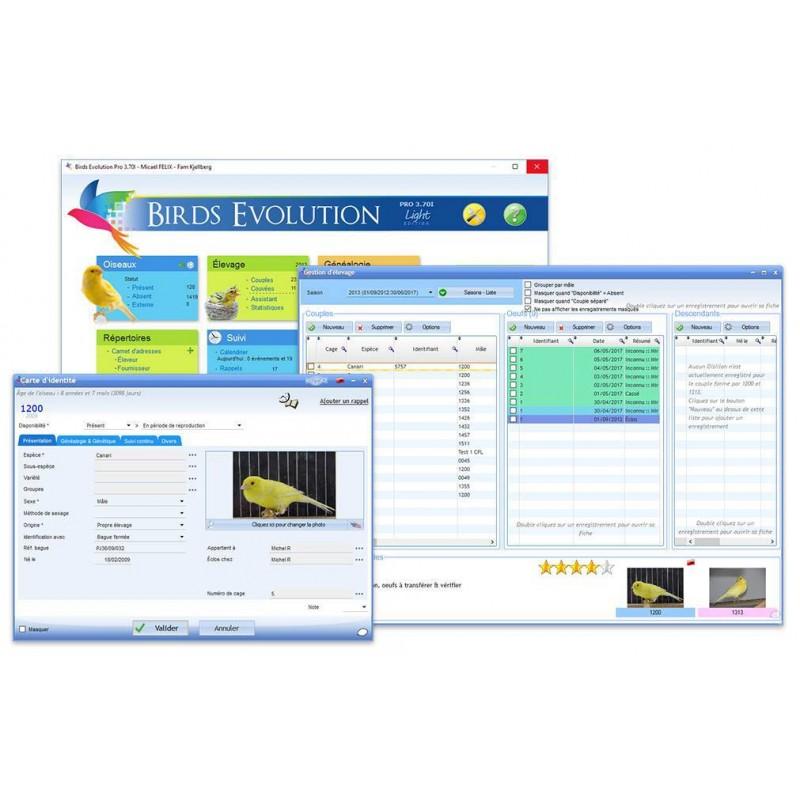 Software breeding Birds Evolution Pro Standard Edition c126c0ec9