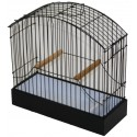 Cage exposure of Border, Fife, Japan Hoso Wood/PVC - Fauna Bird Products