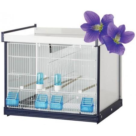 Batterie de cages Viola ART.67 avec système papier - Italgabbie