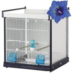 Batterie de cages Genziana ART.68 avec système papier - Italgabbie