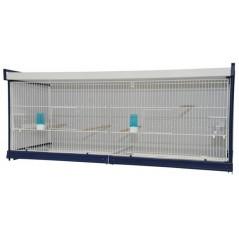 Batterie de cages Lilla ART.75 avec système papier - Italgabbie
