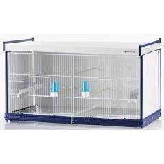 Batterie de cages Calendula ART.76 avec système papier - Italgabbie