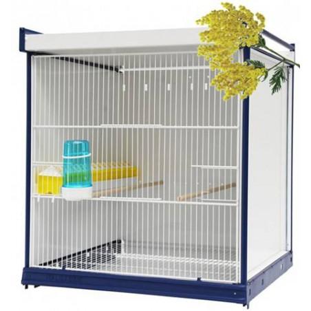 Batterie de cages Mimosa ART.84 avec système papier - Italgabbie ITAL-ART84 Italgabbie 497,00 € Ornibird