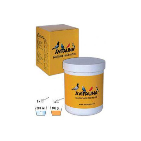 Avifauna, multivitamin complex 500gr - Easyyem EASY-AVIF500 Easyyem 19,35 € Ornibird