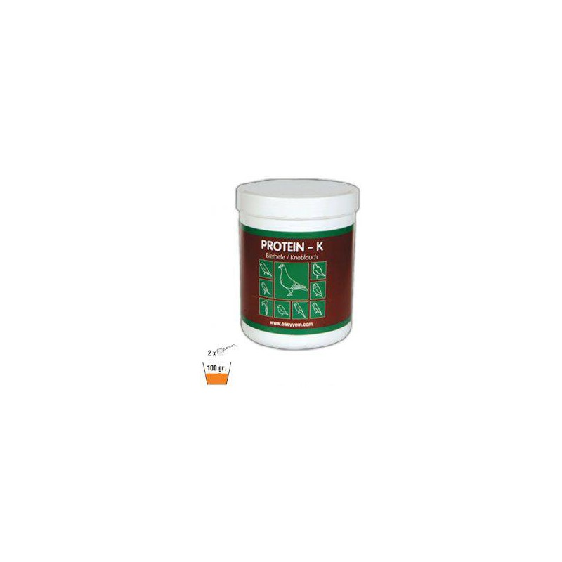 Protein - K, brewer's yeast and garlic 500gr - Easyyem EASY-PROK500 Easyyem 8,90 € Ornibird