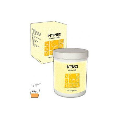 Intenso, pigment for birds on a yellow background 500gr - Easyyem