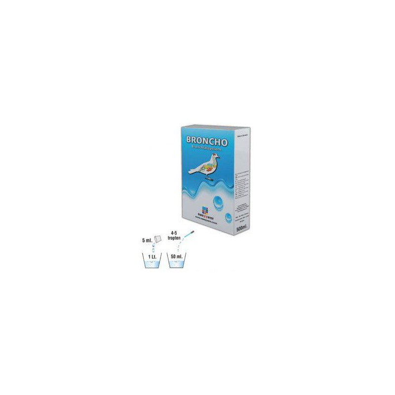 Broncho, improves the respiratory tract 500ml - Easyyem EASY-BRON500 Easyyem 25,50 € Ornibird