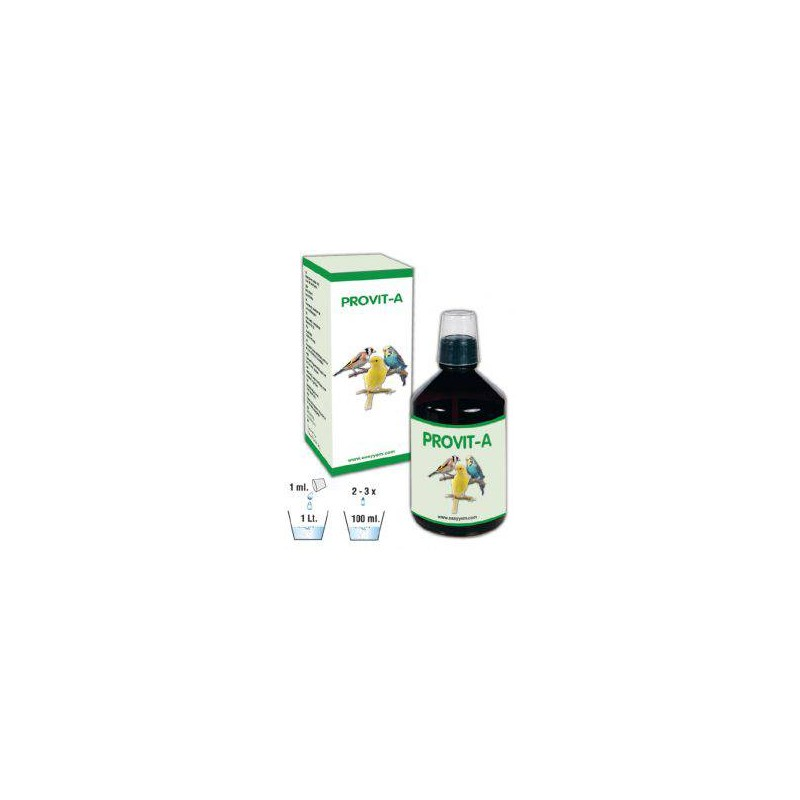 Provit-A, for the canary-white recessive and goulds 250ml - Easyyem EASY-PROA250 Easyyem 19,45 € Ornibird