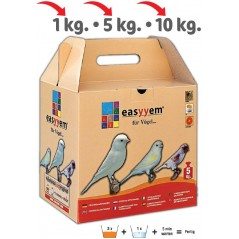 Patée with egg for canaries white 5kg - Easyyem EASY-PCAB5 Easyyem 20,95 € Ornibird