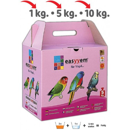 Patée eggs for budgies 5kg - Easyyem