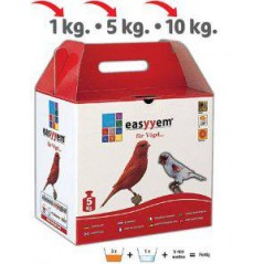Patée with egg for canaries red 5kg - Easyyem EASY-PCRR5 Easyyem 22,45 € Ornibird