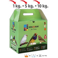 Patée eggs for exotic 5kg - Easyyem EASY-PEXO5 Easyyem 20,95 € Ornibird