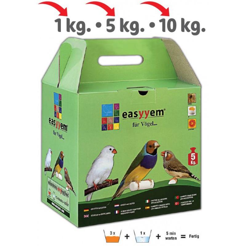 Patée eggs for exotic 5kg - Easyyem EASY-PEXO5 Easyyem 20,95 € Ornibird