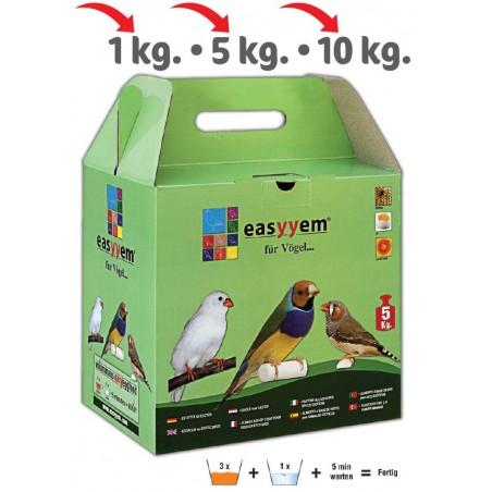 Patée eggs for exotic 5kg - Easyyem