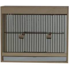Cage d'entrainement avec tiroir en façade - 1 compartiment