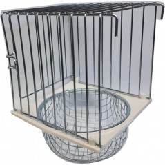 Nest outside and bottom metal 10x11x16cm 14541 2G-R 5,89 € Ornibird