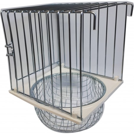 Nest outside and bottom metal 10x11x16cm