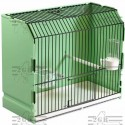 Cage exposure green plastic 36x17x30 cm - 2G-R