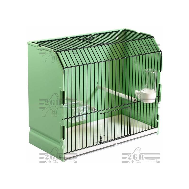 Cage exposition verte en plastique 36x17x30 cm - 2G-R 315/FN1V 2G-R 18,93€ Ornibird