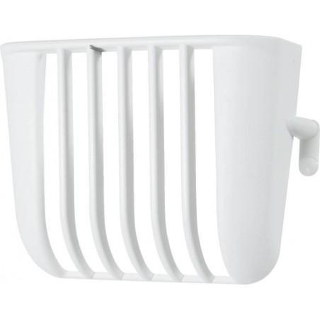 Denture plastic 7.5 x 3 x 6 cm h