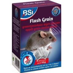Flash Grain, granulés contre les souris 5 sachets de 10gr - BSI