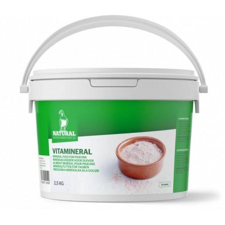Vitamineral (minéraux vitaminés) 2,5kg - Natural Pigeons