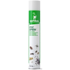TEC spray anti-insetti parassiti 750ml - Naturale Piccioni