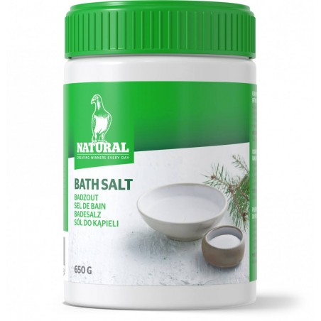 Bath salt 650gr - Natural Pigeons