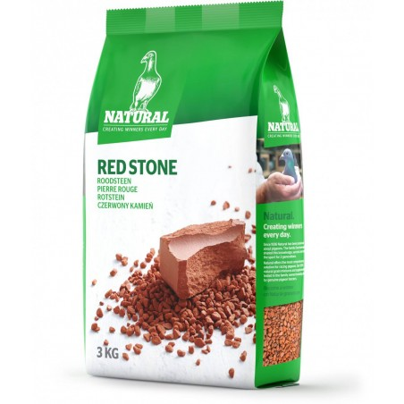 Red stone 3kg - Natural Pigeons