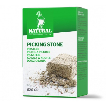 Stone to peck at 620gr - Natural Pigeons