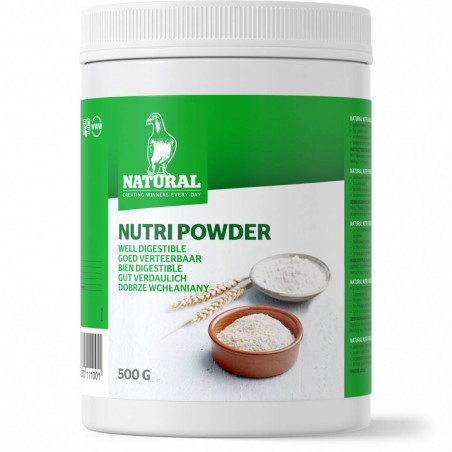 Nutri-powder (powder, energy, recovery) 500gr - Natural Pigeons