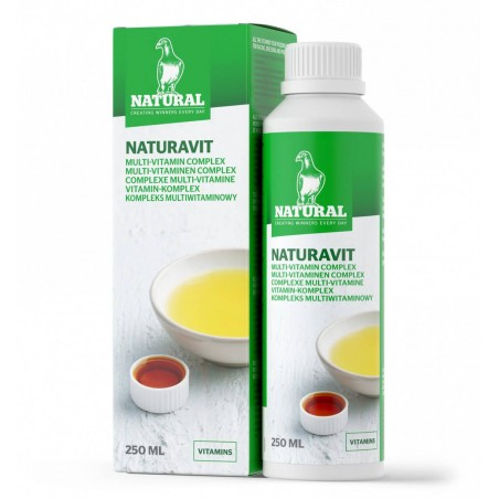 Naturavit Plus (multi-vitamin liquid) 250ml - Natural Pigeons 30005 Natural 7,20 € Ornibird