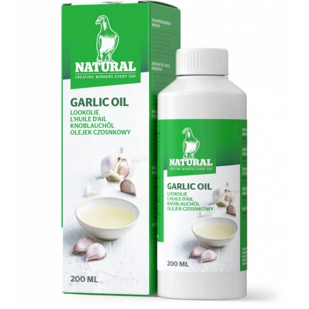 Garlic oil 150ml - Natural Pigeons