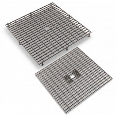 Grating - Grids, plastic (38 x 38 cm with removable feet 26129 Natural 3,78 € Ornibird