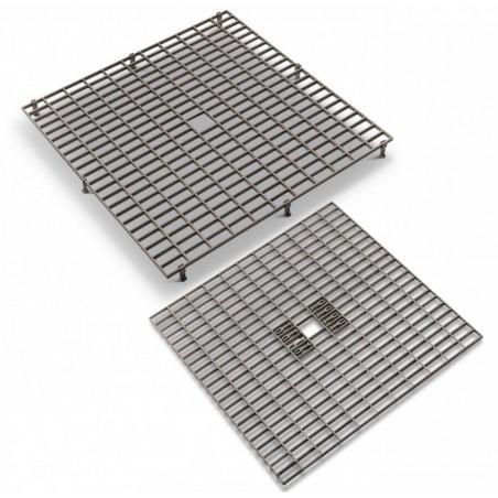 Gitterroste - Gitterroste aus kunststoff 38 x 38 cm mit abnehmbare füße