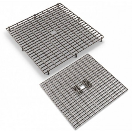 Grating - Grids, plastic (38 x 38 cm with removable feet