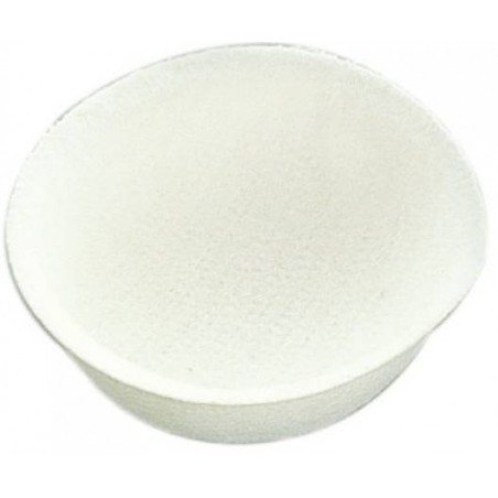 Nest bottom white felt, diameter 12cm - S. T. A. Soluzioni