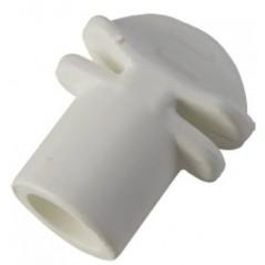 Termination plastic perch, diameter 12mm - S. T. A. Soluzioni I060B S.T.A. Soluzioni 0,25 € Ornibird