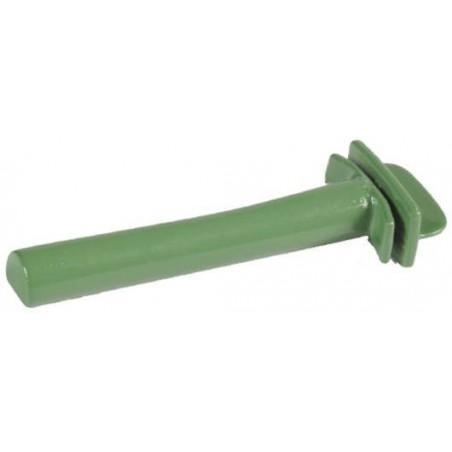 Perchoir en plastique 6,5cm diamètre 10mm - S.T.A. Soluzioni