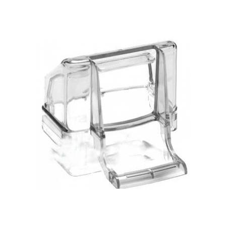 Mangeoire Magic Transparent avec tiroir - S.T.A. Soluzioni