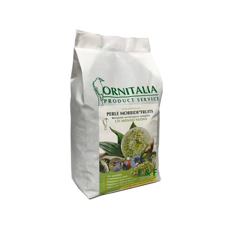 Pearl Morbid green fruit 800gr - Ornitalia 103111000 Ornitalia 10,15 € Ornibird