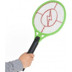 Fly Shock, raquette électrique rechargeable anti insectes - BSI 64078 BSI 6,95 € Ornibird