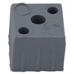 Embout carré 1WF pour tubes carrés 20x20mm
