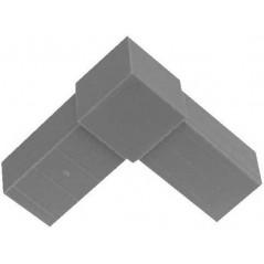 Embout L pour tubes carrés 20x20mm